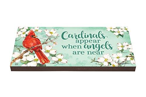 Studio M PV1025DS Cardinals Appear Garden Art Paver