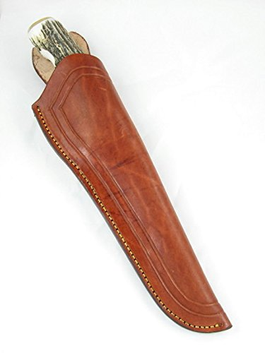 Silver-Stag-Elk-Stick-Series-Frontier-Fighter-Hunting-Knife-D2-Tool-Steel