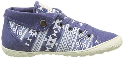 Palladium Gaetane Print - Zapatillas de deporte Mujer Azul - Bleu (D65 Indigo/Aztec)