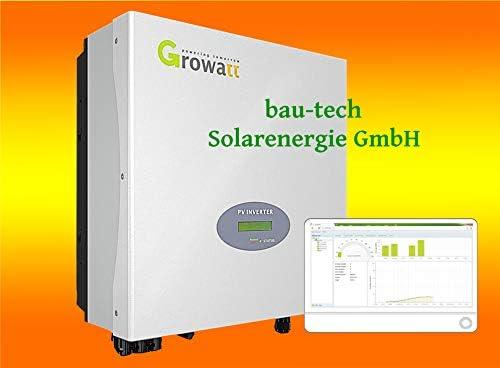 Growatt 3000S Netz Wechselrichter Plug & Play von bau-tech Solarenergie GmbH