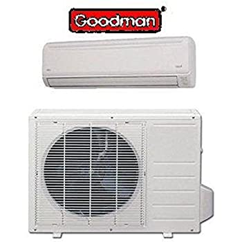goodman mini split. goodman 18,000btu msc183e15ax/mc ductless mini-split cooling only mini split \