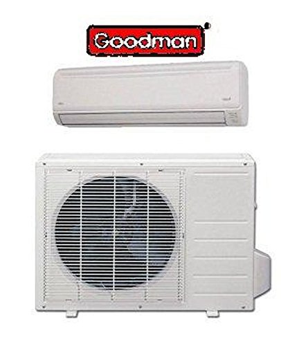 Goodman 12,000 btu MSH123E21AX ductless mini-split cooling and heating ,21 Seer by Goodman