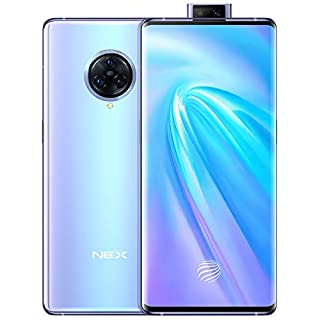 "Original Nex 3(V I V O) 4G LTE Mobile 8G+128GB 6.89"" Super Amoled Snapdragon 855 Plus Android 9 64.0MP 44W Super VOOC 4500mAh NFC Cellphone Support Google by-(Real Star Technology) (Blue 8G+128GB)"