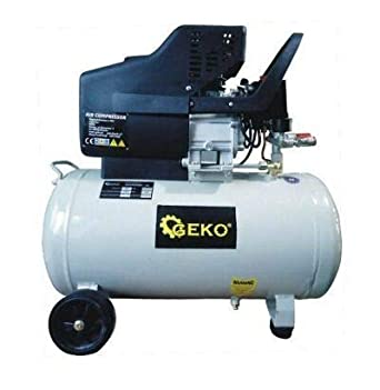 Geko G80301 - Compresor de aire lubricado (50 L, 8 bar), multicolor: Amazon.es: Industria, empresas y ciencia