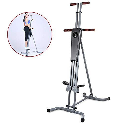 SHZOND Vertical Climber Fitness Exercise Step Climber for Home Gym Full Body Fitness Workout Cardio Climbing Machine