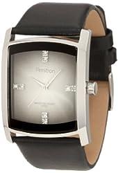 Armitron Men's 204604DGSVBK Swarovski Crystal Accented Dress Watch