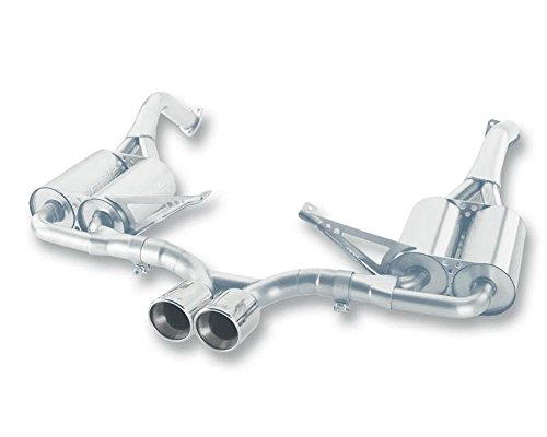 Borla 12653 Cat-Back Exhaust System - CAYMAN/CAYMAN S/BOXSTER S 05-08 3.4L 6CYL AT/MT RWD 2DR