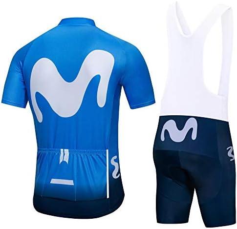 ZHLCYCL Traje Ciclismo Hombre, Maillot Ciclismo y Culotte Ciclismo con 5D Gel Pad para Verano Deportes al Aire Libre Ciclo Bicicleta: Amazon.es: Deportes y aire libre