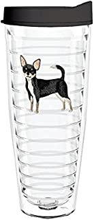 product image for Smile Drinkware USA-CHIHUAHUA 26oz Tritan Insulated Tumbler With Lid and Straw
