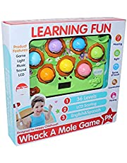 Learning Fun Whack a Mole Game with Hammer - Multi Color