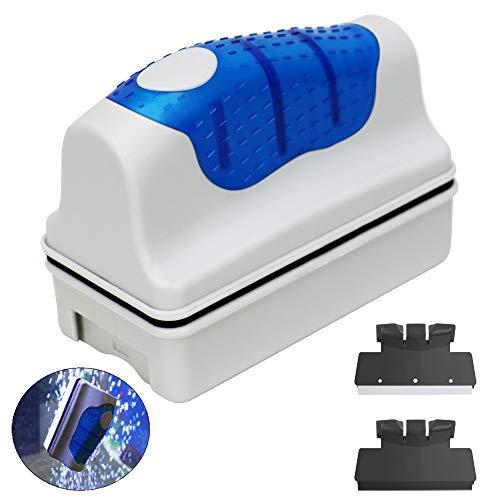 - Jasonwell Magnetic Aquarium Fish Tank Glass Algae Glass Cleaner Scrubber Floating Clean Brush(XL)