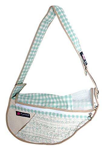 Fundle Lovely Tasche, beige/grün, L