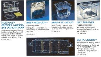 Aqua Breeding Equipment Breeding Traps - BREED N SHOW by Blue Ribbon