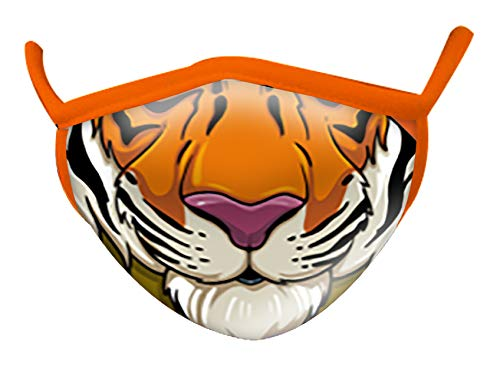 Image of Wild Republic Wild Smiles Adult Face Mask, Reusable Face Mask,