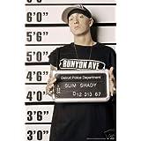 Eminem Police Line up Poster - New Rap Gangster 24x36