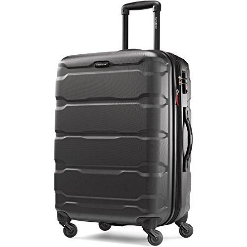 Case Black Hardside Luggage - Samsonite Omni Pc Hardside Spinner 24, Black
