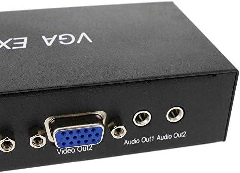 BeMatik - DYLINK VGA en audio-extender door UTP Cat.5 300m REMOTE
