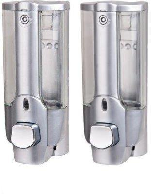SBD Soap Dispenser with Lock (Silver) – Pack of 2