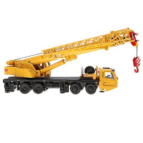 Perfeclan 1:55スケール タワークレーン 掘削機モデル ダイキャスト玩具 車両モデル 車両模型