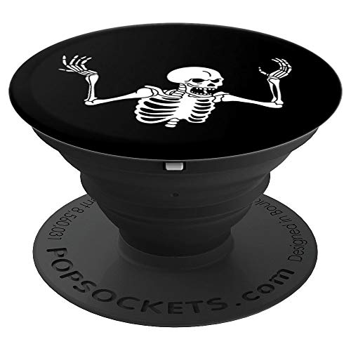 - Spooking Intensifies skeleton spooky meme - PopSockets Grip and Stand for Phones and Tablets