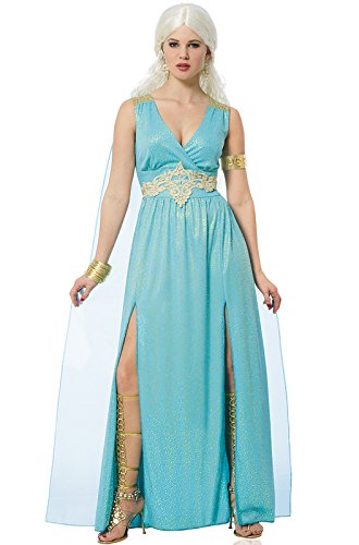 Costume Culture Women's Mythical Goddess Costume, Turquoise, -
