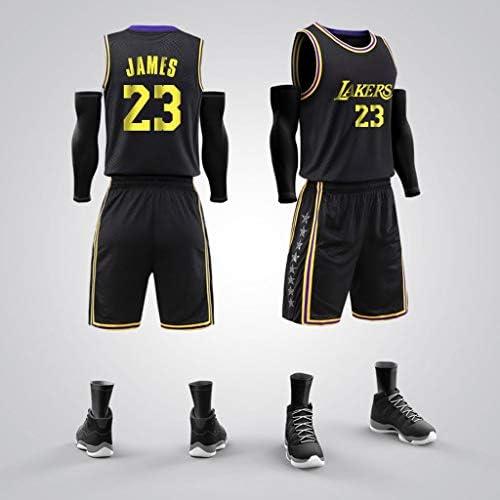 バスケットボールジャージーセットメンズバスケットボールスポーツ、レブロンジェームス#23、バスケットボールスウィングマンジャージーXXXXXL