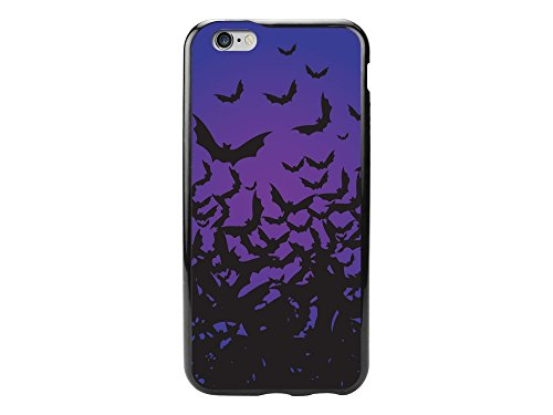 Cellet Proguard Case for iPhone 6 - Non-Retail Packaging - Halloween Bats/Clear -