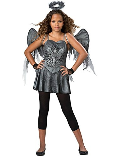 InCharacter Tween Girls Dark Angel Costume 12-14 years