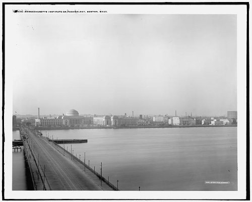 Photo: Massachusetts Institute,Technology,colleges,educational buildings,Boston,MA,1900