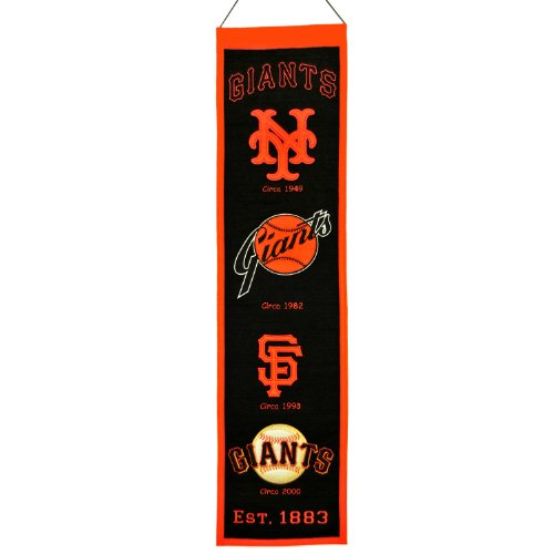 MLB San Francisco Giants Heritage Banner
