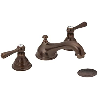 Moen Bathroom Faucet Kingsley Two-Handle Widespread - Oil Rubbed Bronze