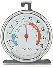 Taylor Precision Products Classic Series Large Dial Thermometer for Freezer/Refrigerator