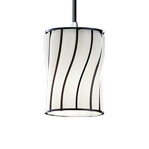 Justice Design Group Lighting WGL-8815-10-SWOP-CROM Mini One Light Pendant