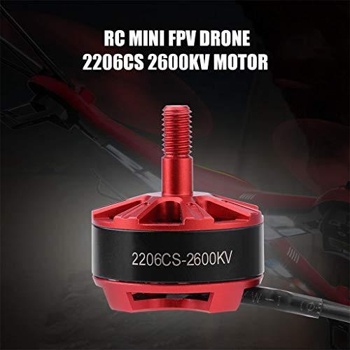 - Livoty 2206CS 2600KV Brushless Motor Speed Controller CW 12N14P 3-4S for RC Mini Drone FPV Racing