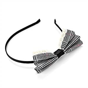 Gris arco Hairband/Alice Band–Accesorios para el pelo