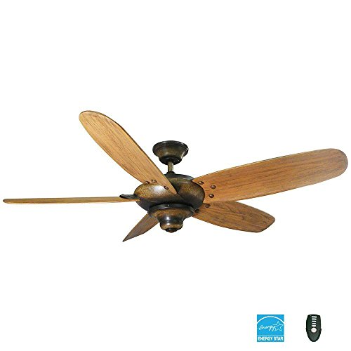 Home Decorators Collection Altura 56 In. Gilded Espresso Ceiling Fan