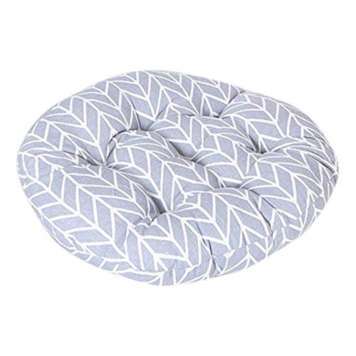 Unove Polyester Fiber Round Chair Cushion Seat Pad for Patio Home Car Office Floor Pillow Tatami Cushion