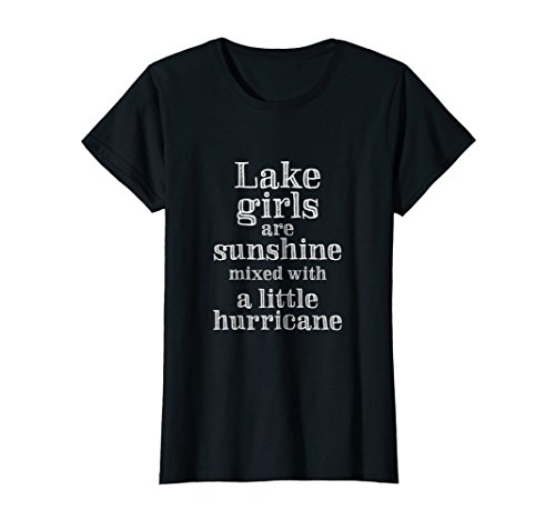 Womens Lake Bum Shirt | Lake Life Shirt | Lake Girls Are Sunshine (Lake Girl)