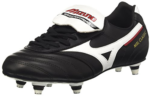 Mizuno Men MRL Classic Si Football Boots, Red Black (Black/White/Red)