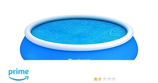 Bestway - Cubierta para piscina Solar Fast Set tamano 3.81 m/ 15: Partner Jouet - HKT58065 - Jeu de Plein Air - Bâche à Bulles - 381 cm: Amazon.es: Jardín