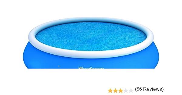 Bestway - Cubierta para piscina Solar Fast Set tamano 3.81 m/ 15 ...