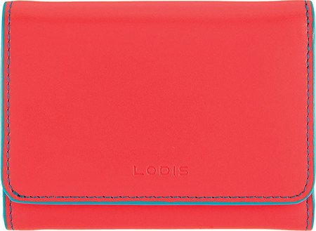 Audrey French Purse Cts Wallet, Coral/Turquoise, One Size