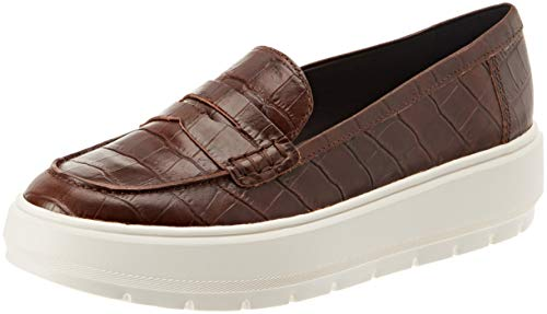 Para C0013 D Mocasines Geox brown D Mujer Kaula wqRPx8PS