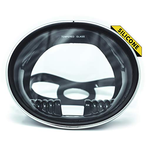Dive Ace Classic Oval Single Lens Snorkel Mask