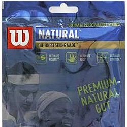 Wilson Natural Gut 16G Tennis String (Gut Wilson Natural)