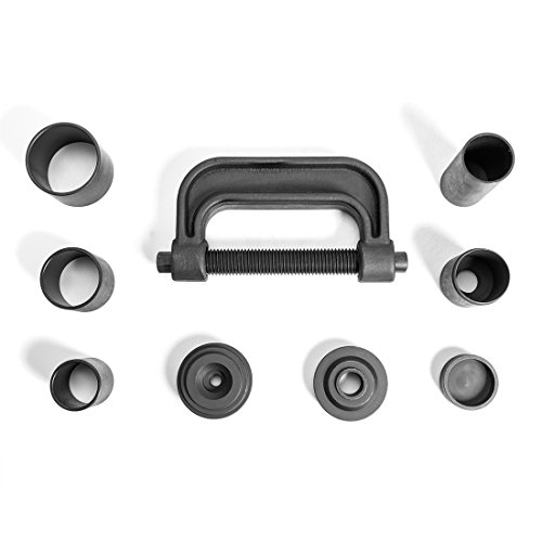 WORKPRO 4-in-1 Ball Joint Service Tool Kit 2WD & 4WD Remover Installer with 4-Wheel Drive Adapters by WORKPRO (Image #2)