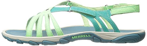 Mujer Enoki Verde bright Green Merrell Link Green Sandalias 4txn8U8