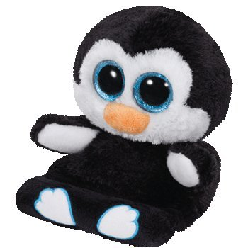 Offical Ty Peek-a-boo Penguin: Penni (One Free Fortune Bracelet)