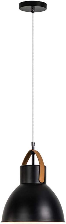 Lampara ventilador techo Araña De Luces - Para: Comedor / Sala De Estar / Sala De Exposiciones / Hotel - Diámetro: 27 Cm, Altura: 24 Cm, Longitud Del Cable Colgante: 150 Cm (ajustable) (negro) lampara