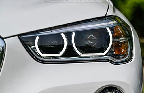GOWE Car Styling LED Head Lamp for BMW X1 headlights 2016 for X1 LED angle eyes drl H7 hid Bi-Xenon Lens low beam Color Temperature:6000K; Wattage:35W 3